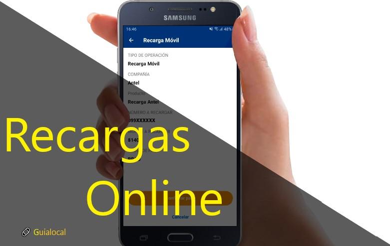 Recargar Online