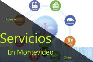 servicios en la ciudad de montevideo