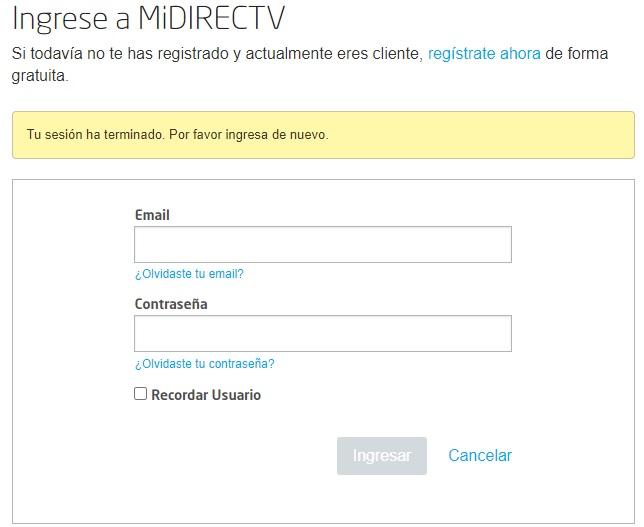 consultar saldo directv uruguay