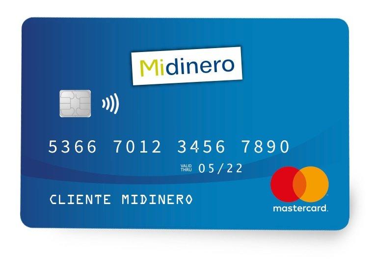 Cómo solicitar la tarjeta Midinero